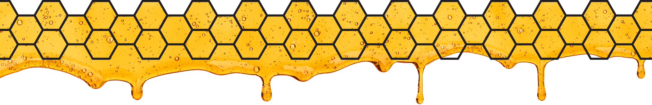 Honeycomb and Honey Dripping